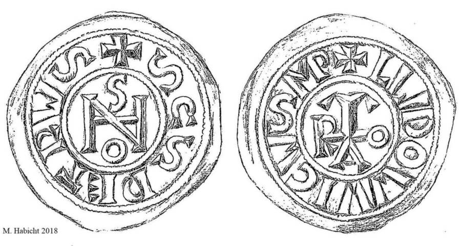 Silver Coins Pope Joan