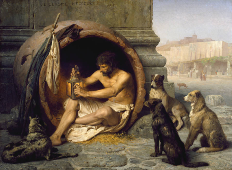 Weirdest People Diogenes