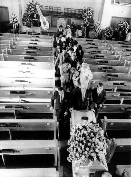 Jimi Hendrix Funeral Procession