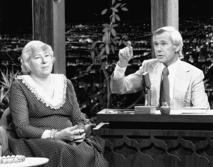 Madalyn Murray Of The American Atheists On Johnny Carson
