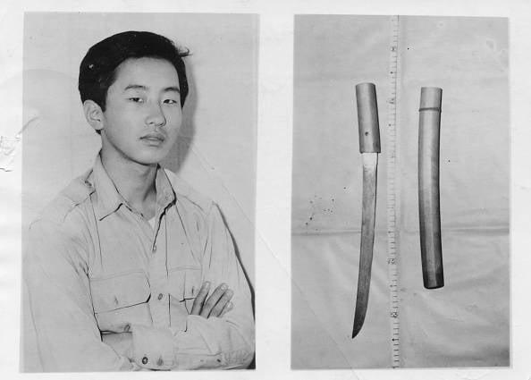 Otoya Yamaguchi And His Murder Weapon