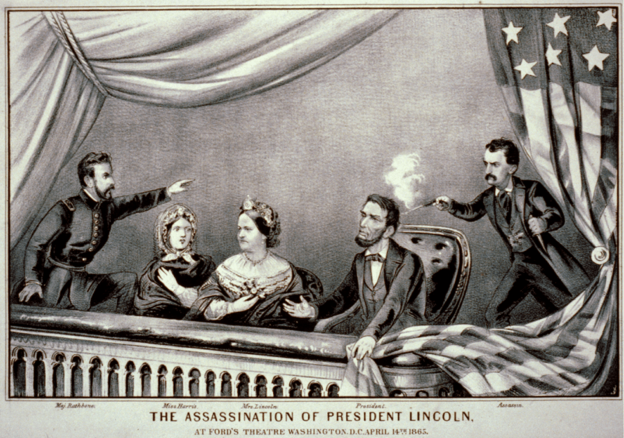 Graphic Of Abraham Lincoln Assassination