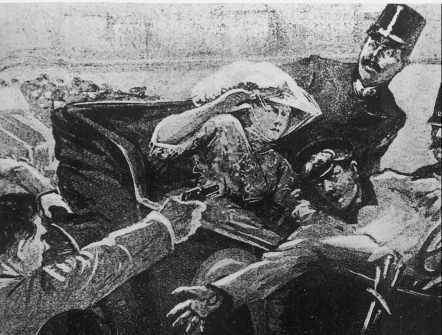 Portriat Assassination Franz Ferdinand