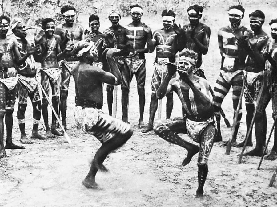 Australian Aborigines Corroboree