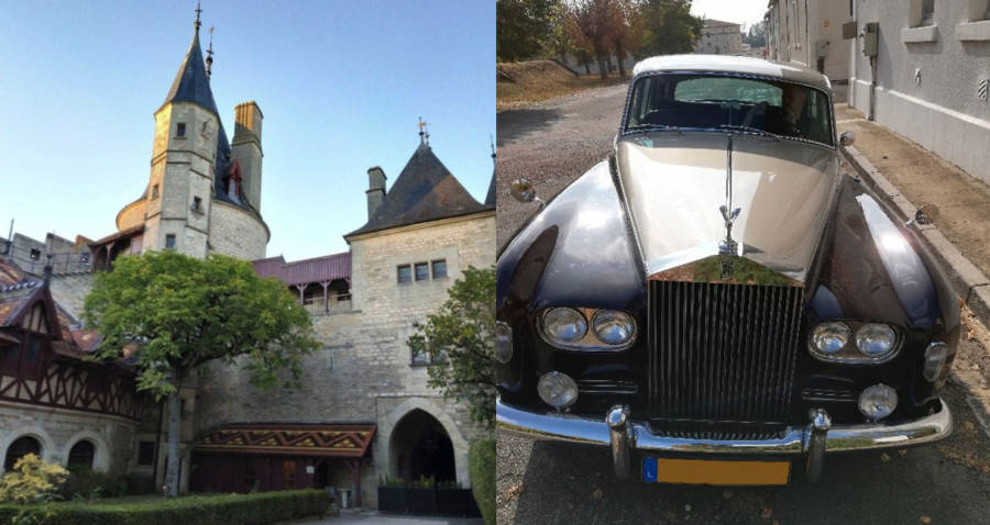 Castle And Rolls Royce