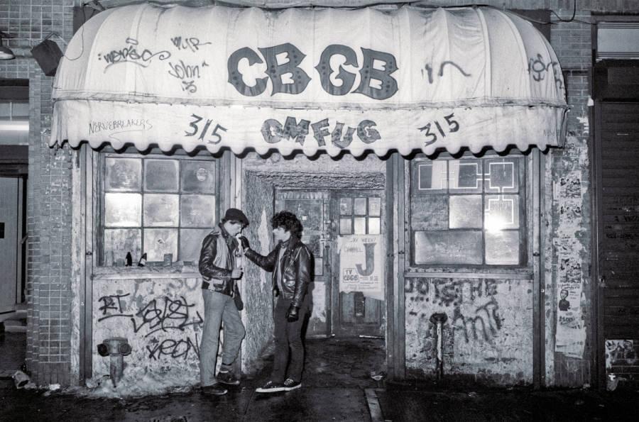 Cbgb Exterior 1983
