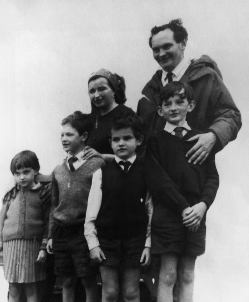 Donald Crowhurst And Family