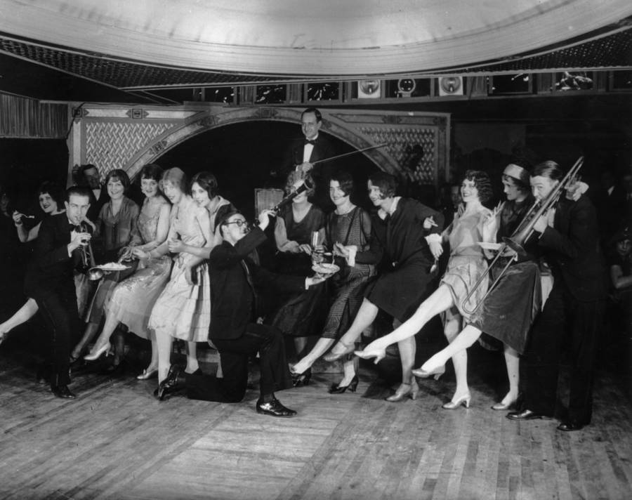 Flappers At The Parody Club