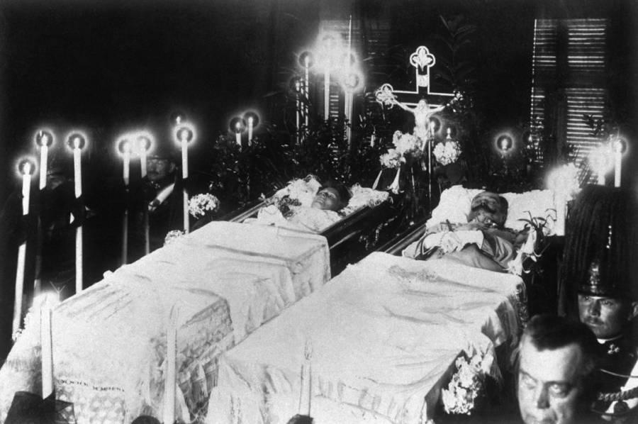 Funeral Of The Ferdinands