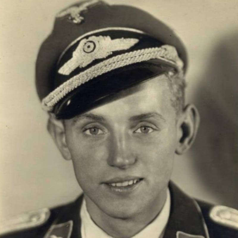 Erich Hartmann In 1943