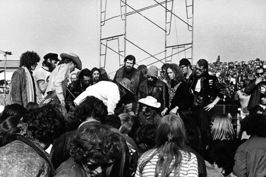 Hells Angels At Altamont