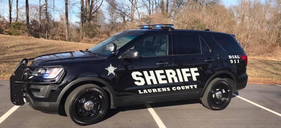 Laurens County Sheriff's Vehicle