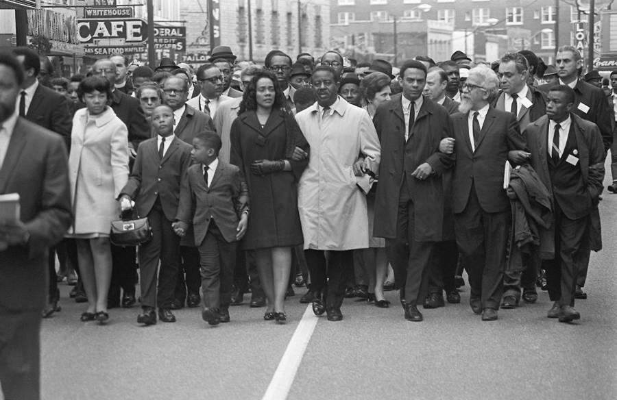 MLK Famils Mourns Assassination