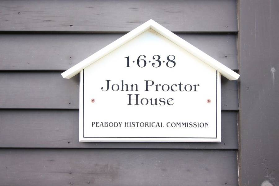 Proctor House Sign