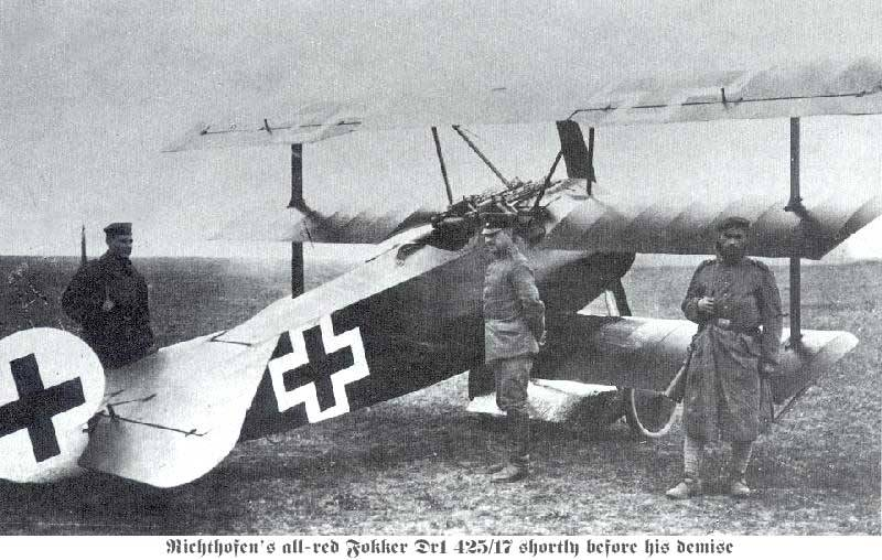 Red Baron Fokker Triplane