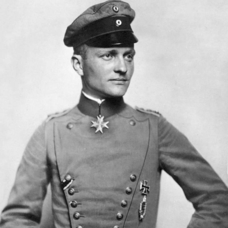 Manfred von Richthofen Postcard