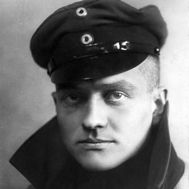 A Portrait Of The Red Baron