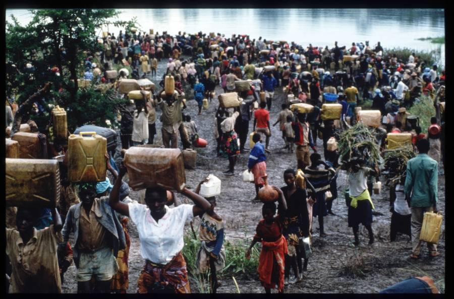 Refugees Fleeing Rwanda