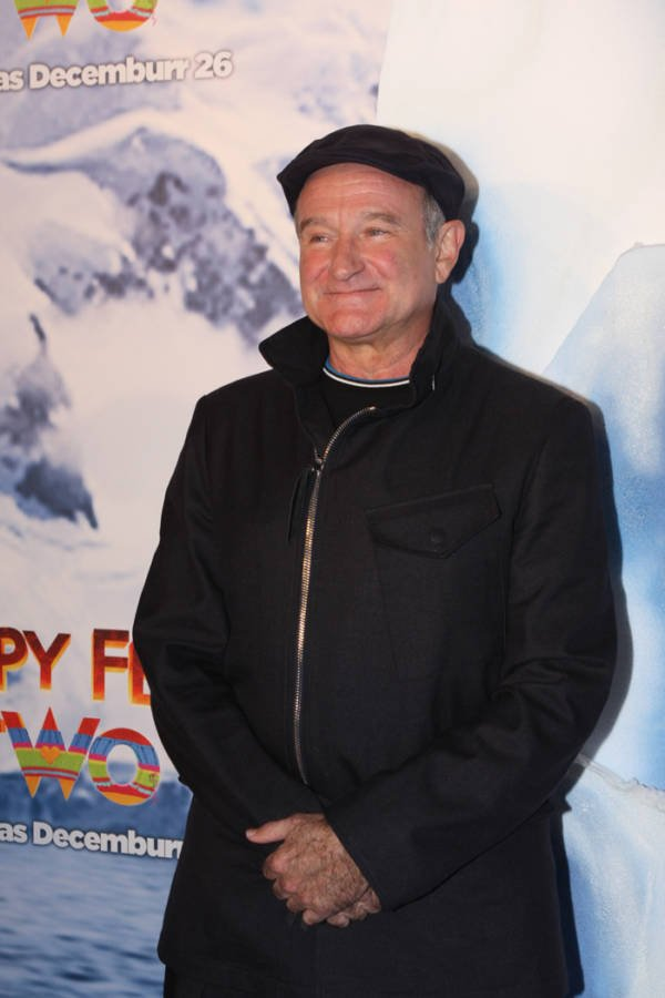 Robin Williams At Happy Feet