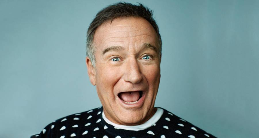 A Portrait Of Robin Williams