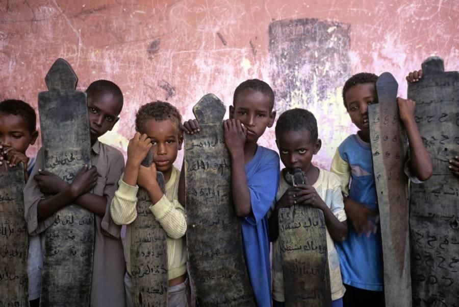 Child Refugees From Rwanda