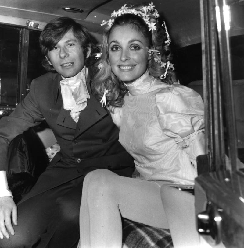 Sharon Tate And Roman Polanski's Wedding