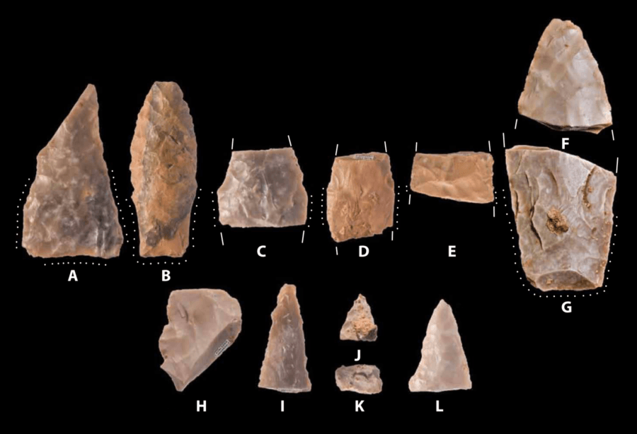 Spear Points Pre-Clovis