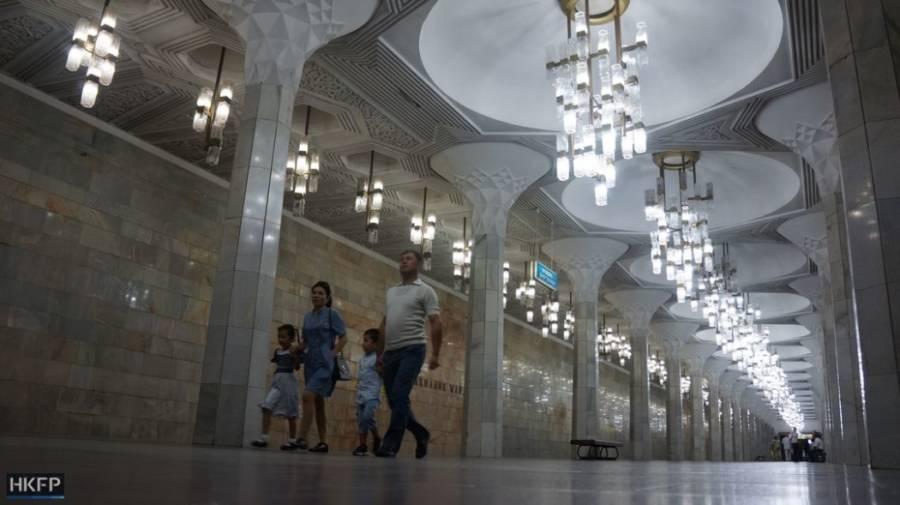 Tashkent Walkway Chandeliers