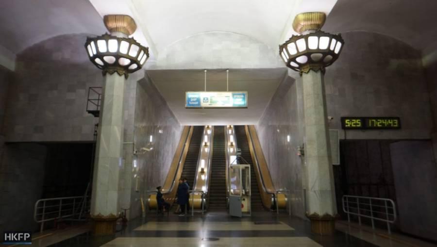 Tashkent Columns Long Hall