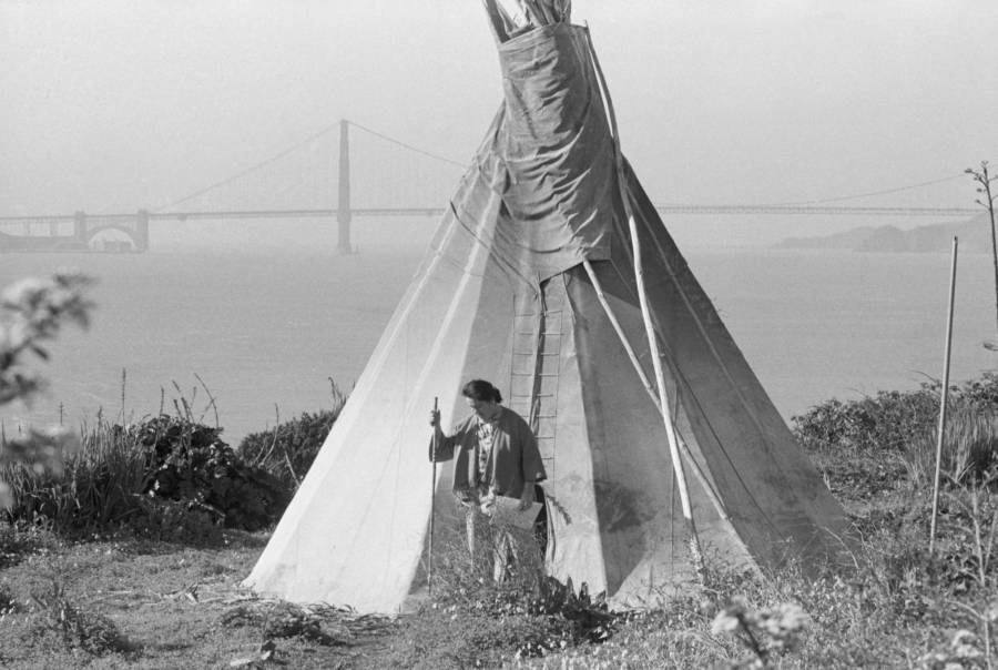 Teepee On Alcatraz