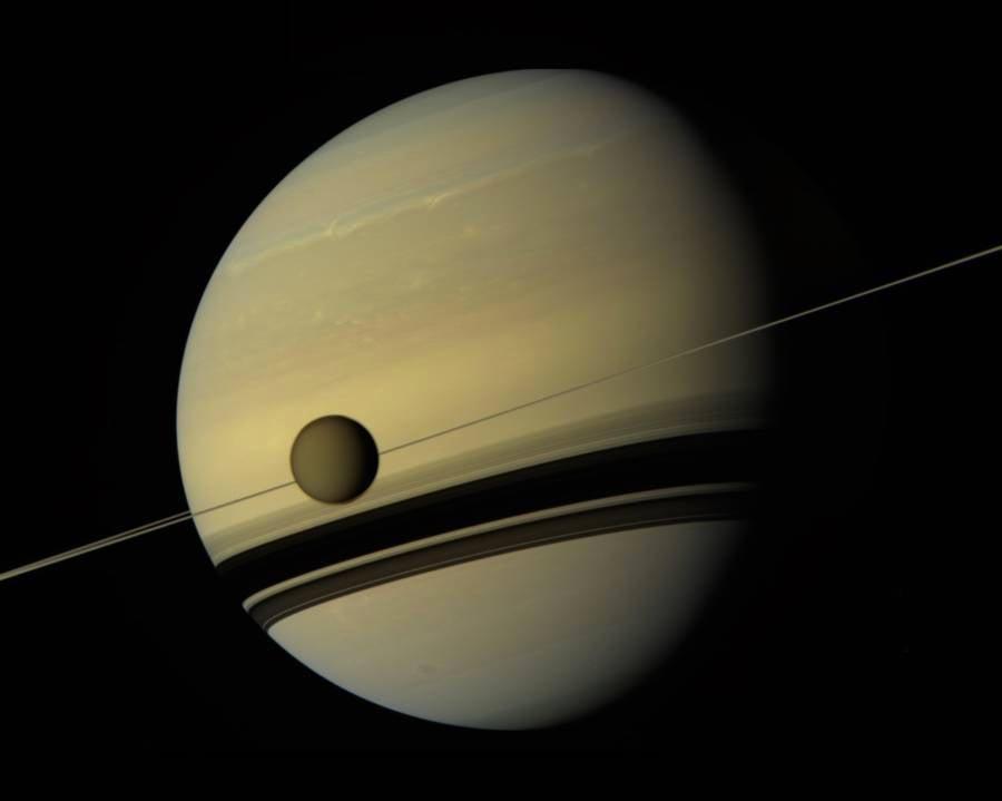 Titan Saturn
