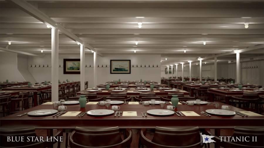 Titanic 2 Interior