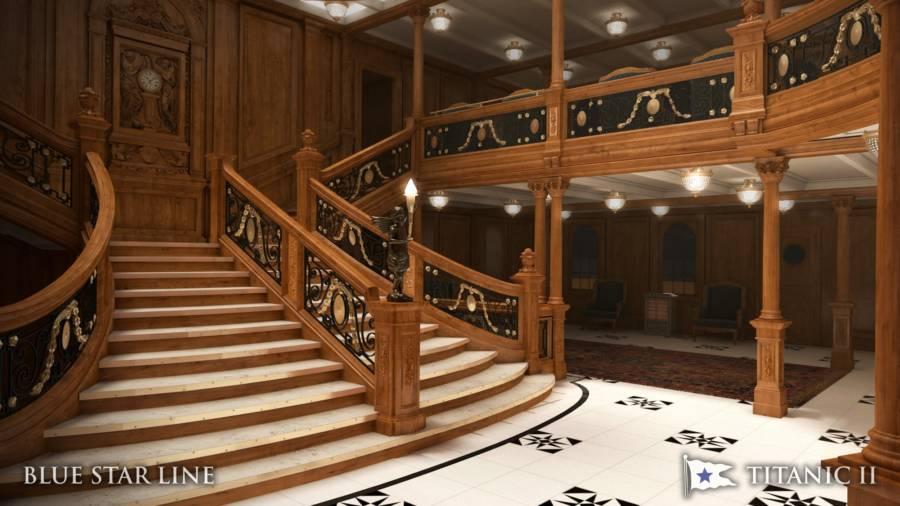 Titanic 2 Staircase