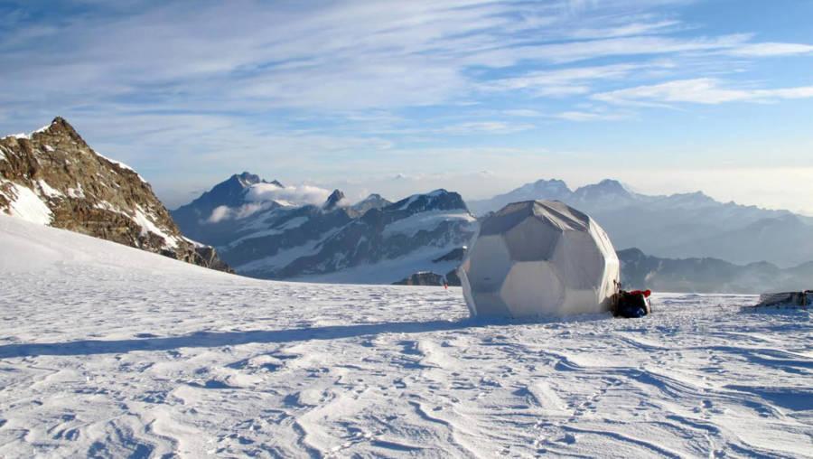 Colle Gnifetti Glacier