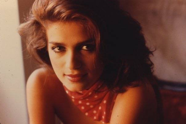Gia Carangi In Red Bandana