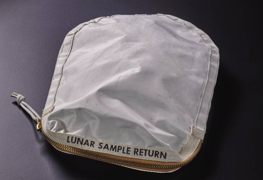 Apollo 11 Lunar Collection Bag