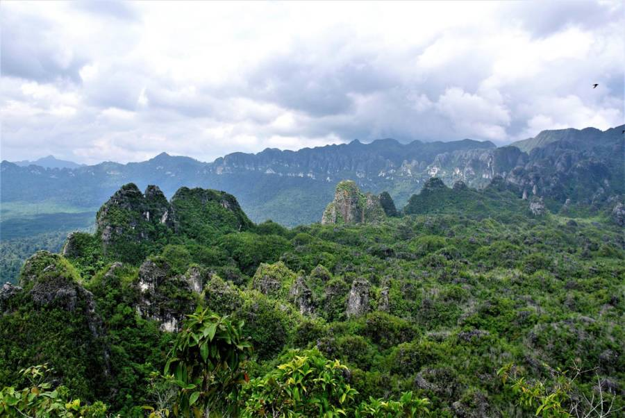 Mountains In Borneo