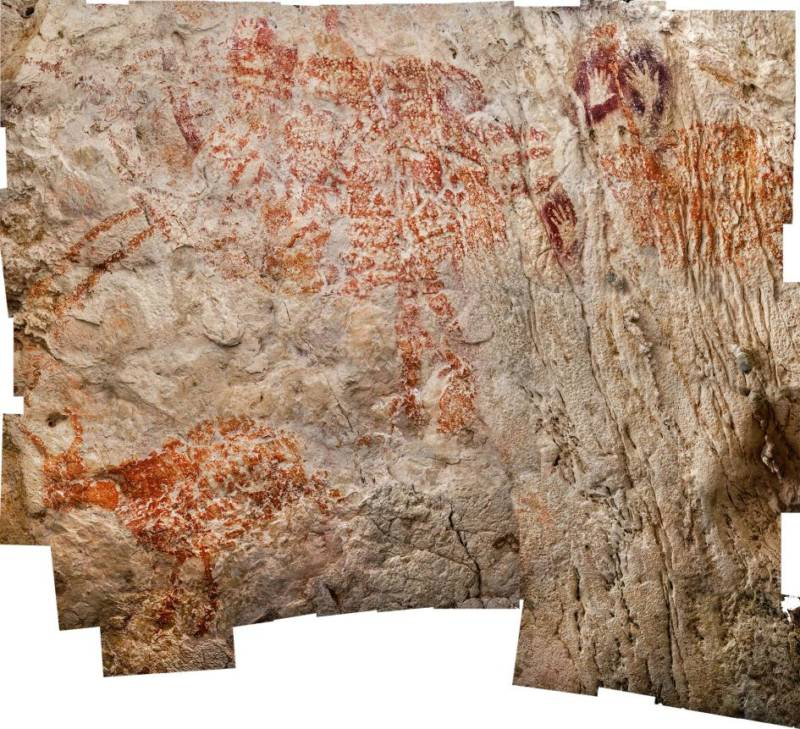 Indonesian Cave Art