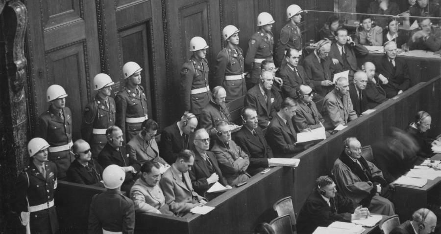 Defendants Major War Criminals