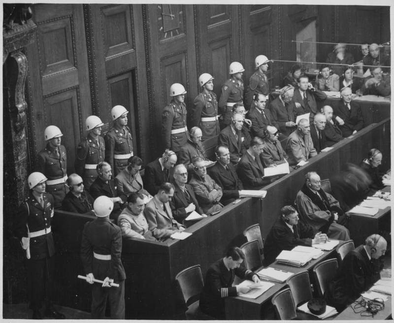 Nuremberg Trials Defendants