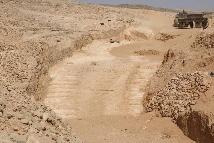 Ramp Used To Build Pyramids