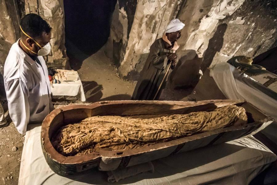 El Assasif Sarcophagus