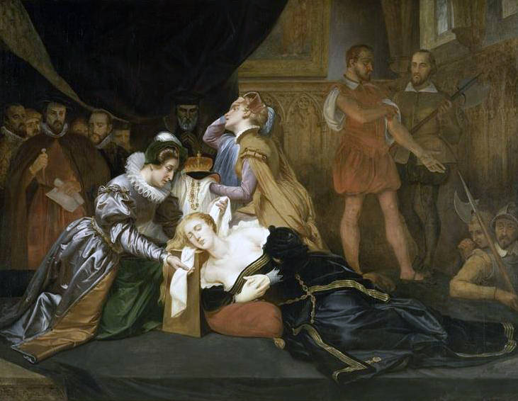The Execution Of Mary Stuart