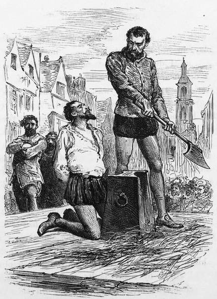 Execution Of Walter Raleigh