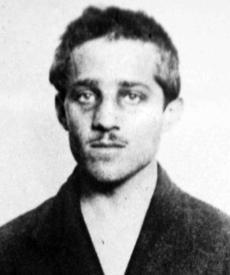 Gavrilo Princip's Mugshot
