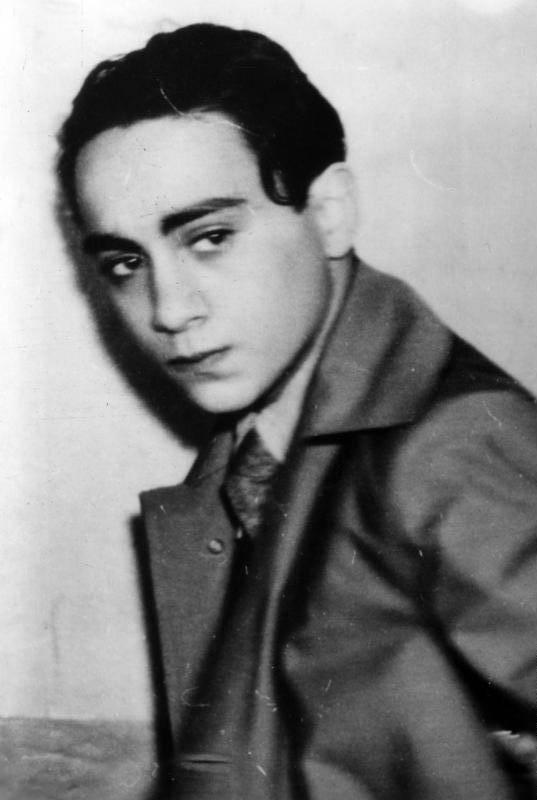 Herschel Grynszpan Portrait