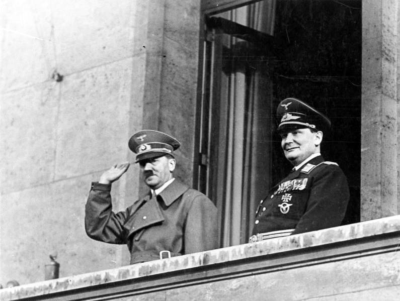 Adolf Hitler And Hermann Goring