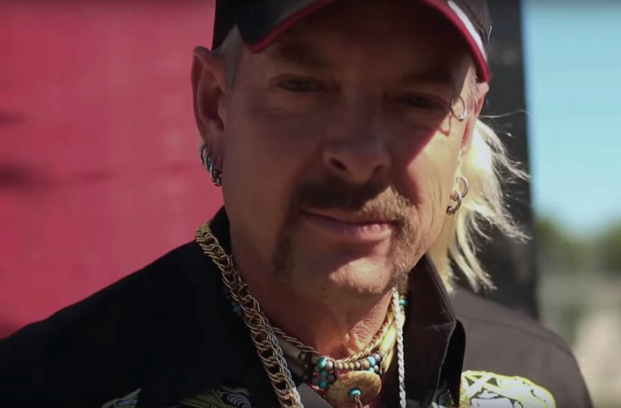 Joe Exotic Staring Into The Camera