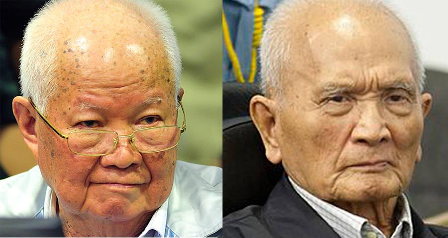Khieu Samphan Nuon Chea