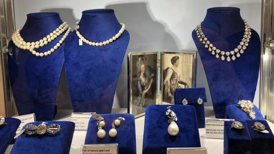 Collection Of Marie Antoinette S Jewelry Up For Auction By